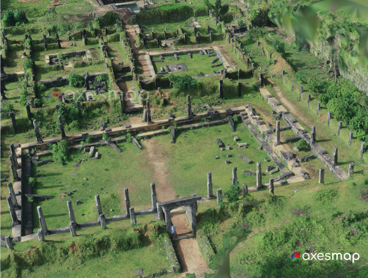 3D Reconstructed Ruins of Palace