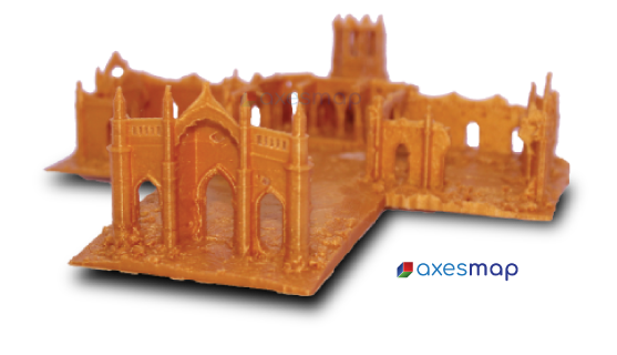 3D Printed Model of Shettihalli Church