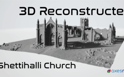3D Reconstructed Model of the Shettihalli Church – Hassan | Project Digital Heritage